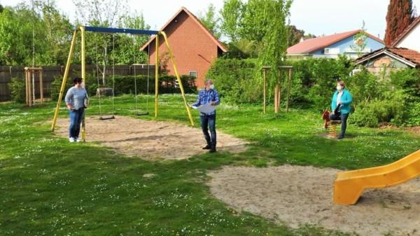 Begehung Spielplatz